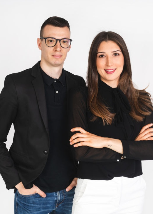 Dejan Zach und Nastasija Erhatič