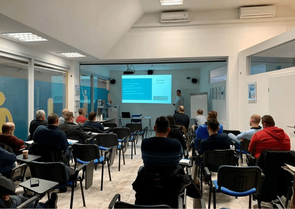 Workshop for our leading fitters