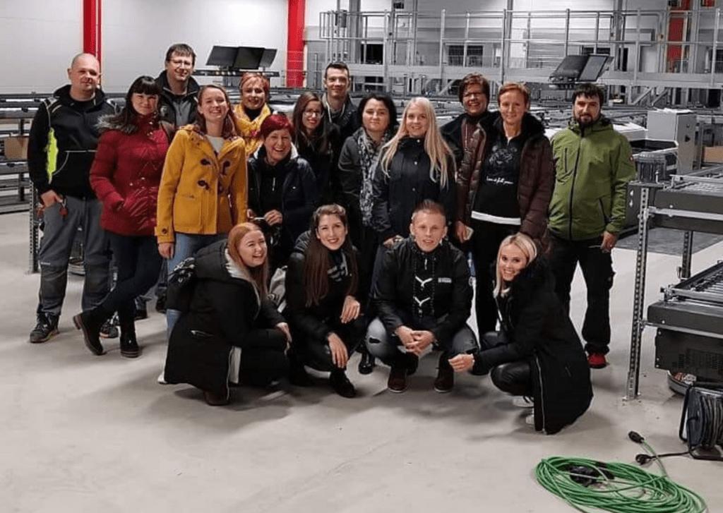 Incentive-Reise unserer Büromitarbeiter nach Schweden mit Baustellenbesichtigung in Dänemark